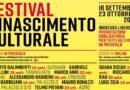 Torna il festival rinascimento culturale con la settima edizione