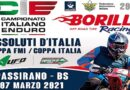 A Passirano il 7 Marzo gli Assoluti d'Italia: Coppa FMI e Coppa Italia