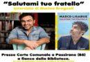 Marco Ligabue presenta a Passirano il suo libro: Salutami tuo fratello