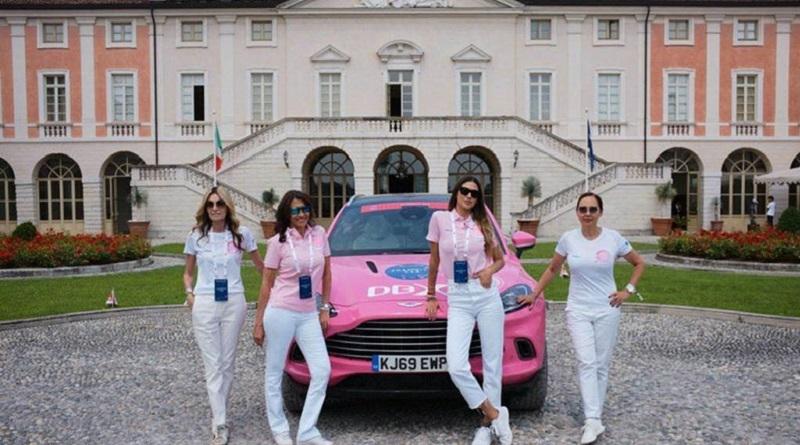 Alla 1000 Miglia quest'anno c'è anche una Aston Martin DBX rosa: è la Pink car